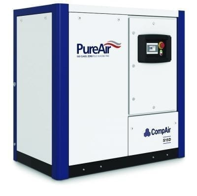 CompAir Oil Free Scroll Compressor S15D - 10