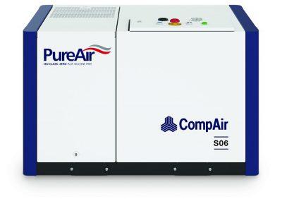 CompAir Oil Free Scroll Compressor S06 - 8