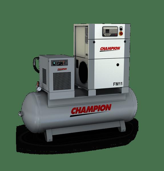 Champion FM 11 - 7 bar 270LT Tank + Dryer