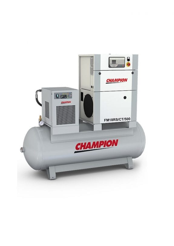 Champion FM 18 RS - 7 bar 500LT Tank + Dryer