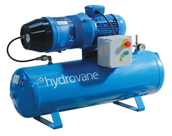 Hydrovane HV01 RM 1.1kW 1ph Receiver Mounted Single Phase Fixed Speed Rotary Vane Compressor