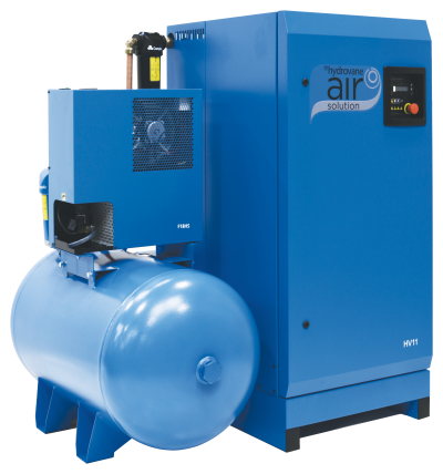 Hydrovane HV22AERD - 10 - Fixed Speed Rotary Vane Compressor - Receiver - Dryer - Filters