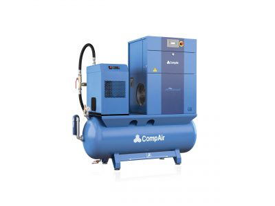 CompAir L22FS - 07 - 500L Airstation - Fixed Speed Rotary Screw Compressor - Air Receiver - Dryer - Package