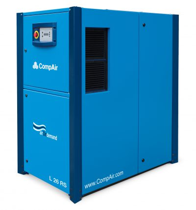 CompAir L26RS - Regulated Speed Rotary Screw Compressor