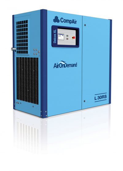 CompAir L30RS - Regulated Speed Rotary Screw Compressor